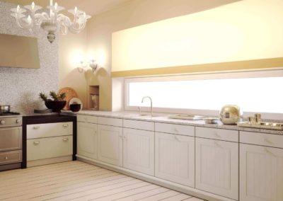 EME Cocinas y Armarios Modelo Lacado L47020_Blanco_mate