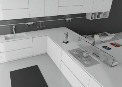 cocina LaminadaEmecocinas Modelo F16002_Blanco_03